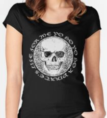 pirate's life for me... Women's Fitted Scoop T-Shirt