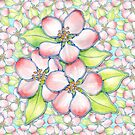 Apple Blossoms by PatriciaSheaArt