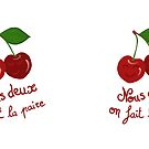 Pair of cherries - Mug by AOertel