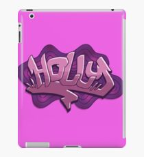 Holly graffiti lettering iPad Case/Skin