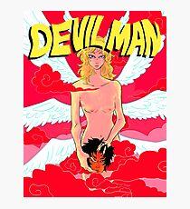 Devilman (Resized) Photographic Print