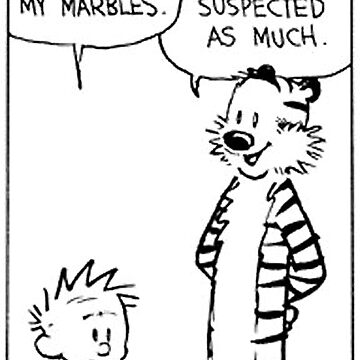Calvin and Hobbes Comic Strip by Ruby5732