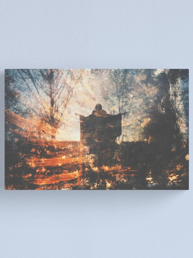 Alternate view of Une Nuit d'Hiver Canvas Print