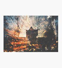 Une Nuit d'Hiver Photographic Print