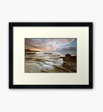 Location, location location Framed Print
