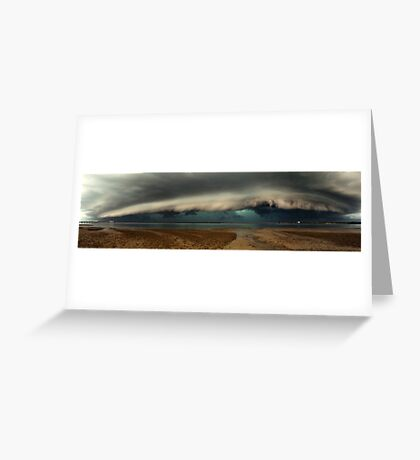 Woody Point Pano Greeting Card