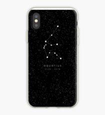 Aquarius Zodiac Constellation iPhone Case