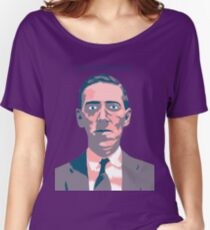 HP Lovecraft Women's Relaxed Fit T-Shirt