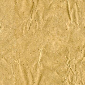 Brown Paper Bag Pattern by FringeInk