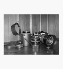 Dad's Gear Photographic Print