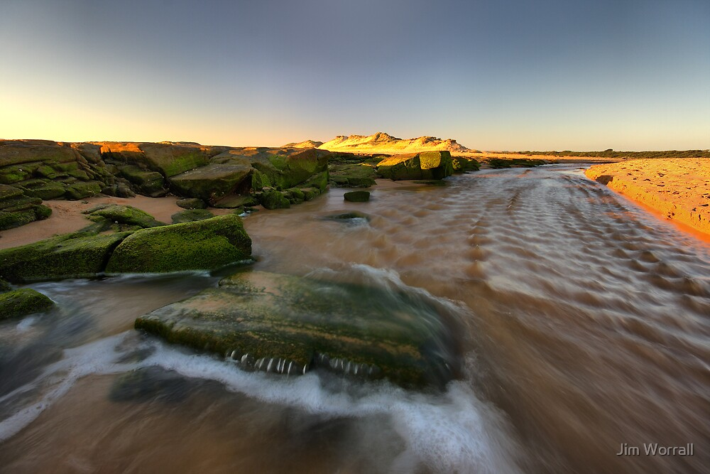 The Rush of the Powlett River by Jim Worrall
