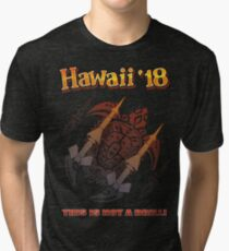 Hawaii Missile Attack '18 Tri-blend T-Shirt