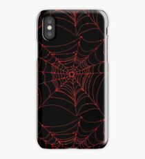 Red Web iPhone Case/Skin