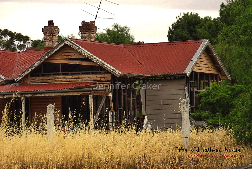 The old railway house by Jennifer Craker
