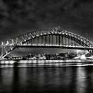 Bridge In Mono. by Andrew Bosman