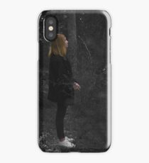 Lady in the woods. iPhone Case/Skin