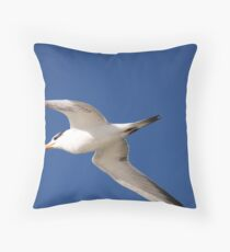 Gulls and Skimmers Throw Pillow