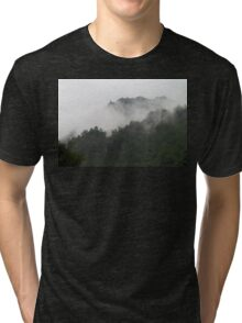 Foggy Mountains Tri-blend T-Shirt