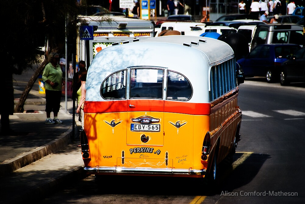 Maltese Bus by Alison Cornford-Matheson