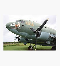 WW2 DC3 Photographic Print