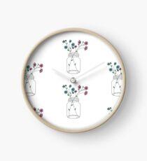 Einmachglas Uhr