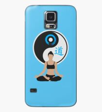 Tranquil Spirit - Blue Case/Skin for Samsung Galaxy