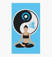Tranquil Spirit - Blue Photographic Print