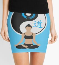 Tranquil Spirit - Blue Mini Skirt