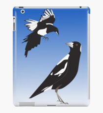Magpie encounter iPad Case/Skin