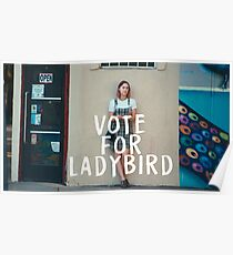 VOTE FOR LADYBIRD  Poster