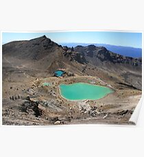 Tongariro Crossing, New Zealand Poster