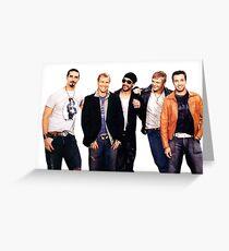 Backstreet Boys Greeting Card