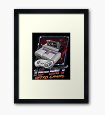 16-Bit Retro Gaming Framed Print