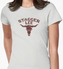 Stagger Lee - Skull Edition Womens Fitted T-Shirt
