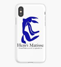 GRAND PALAIS : Vintage 1970 Matisse La Chevelure Exhibit Advertising Print iPhone Case/Skin