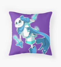 A Wild Blueberry Throw Pillow