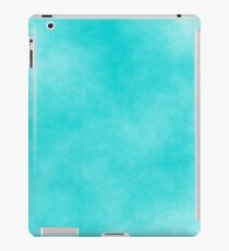 Dark Turquoise on White 10 100 DF  iPad Case/Skin