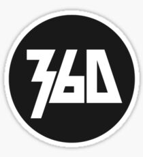 360 Rapper Logo  Sticker
