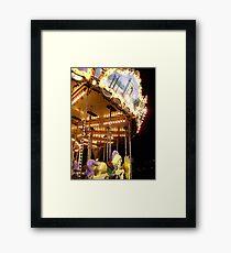 The Magic Carousel Framed Print