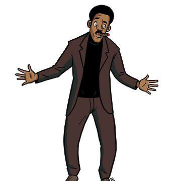 Richard Pryor Cartoon by JeremyLey