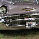 Pink Champagne  1957 Chevy Belair...... by DonnaMoore