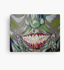 are you happy now? Canvas Print