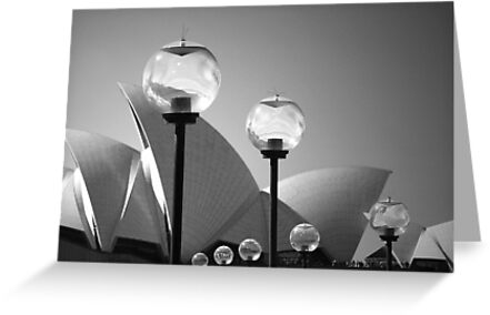 Lights At The Opera House by David Piszczek
