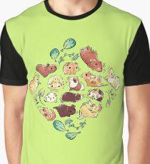 Guinea Pig Diamond  Graphic T-Shirt