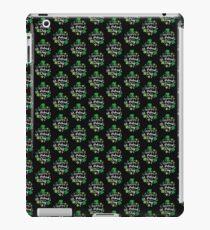 Cute Happy St. Patrick's Day Shamrock Four Leaf Clover Print iPad Case/Skin