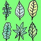 Leaf, Leaves and More Leaves Pattern  by ImportAutumn