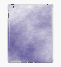 Dark Slate Blue on White 10 100  iPad Case/Skin