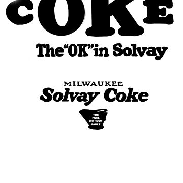 """The """"OK"""" in Coke! Milwaukee Solvay by pgnas"""