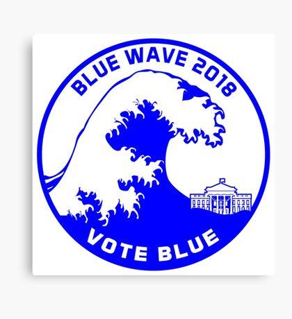 Blue Wave 2018 Canvas Print