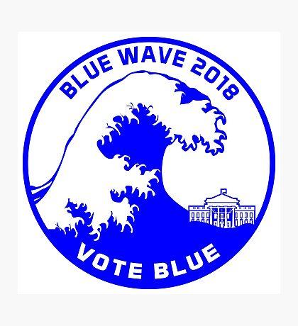 Blue Wave 2018 Photographic Print